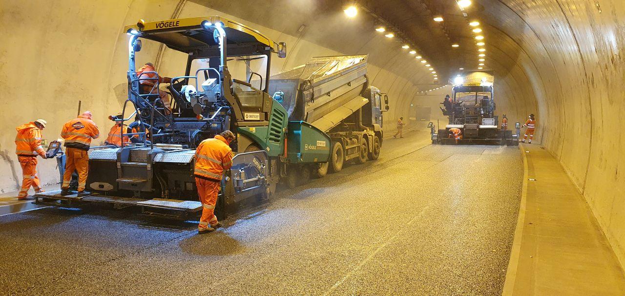 Údržba Pisáreckého tunelu