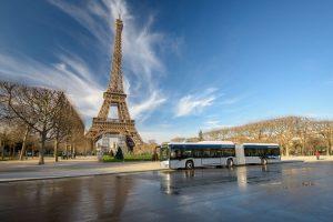 Elektrobus Solaris v Paříži. Foto: Solaris