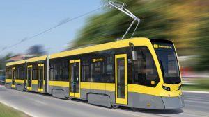 Vizualizace nové tramvaje pro Sarajevo. Foto: Stadler
