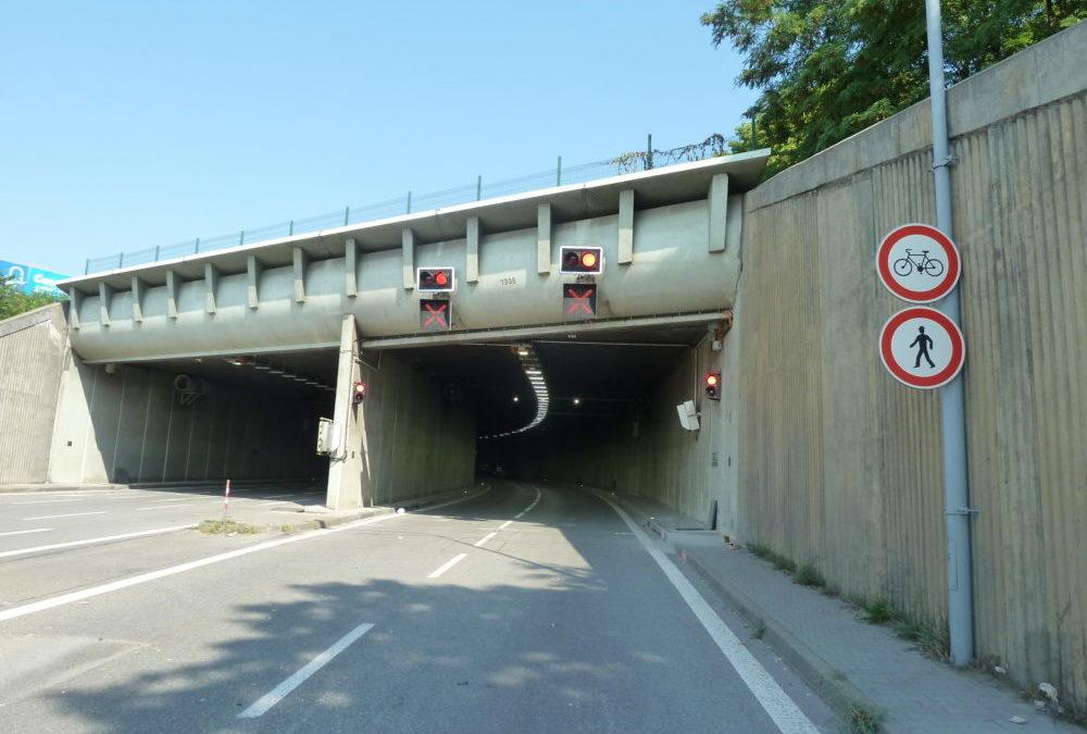 Tunel v Brně. Pramen: ŘSD