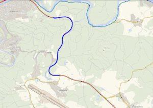 Problematický úsek silnice I/6, který prochází úpravami. Foto: ŘSD