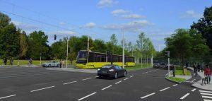 Vizualizace tramvajové trati na sídliště Vinice. Foto: Plzen.eu