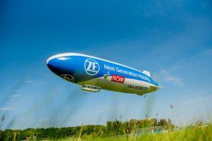 Vzducholoď Zeppelin NT. Foto: ZF