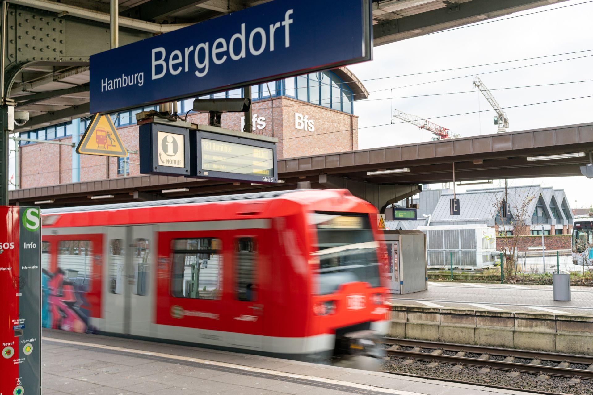 Automatický vlak v hamburské S-Bahn. Pramen: Siemens Mobility