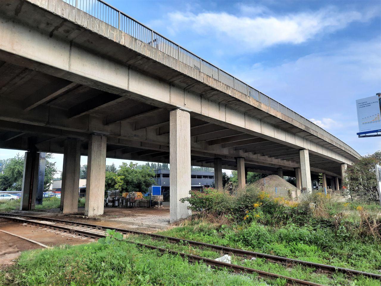 Dálnice D46 v Prostějově. Foto: ŘSD