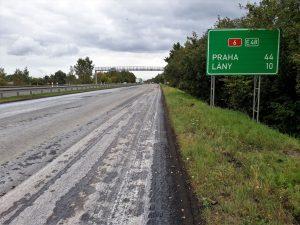 Oprava dálnice D6. Pramen: ŘSD