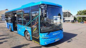 Autobus Škoda D'CITY. Pramen: DPMB