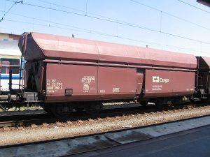 Nákladní vagon Falls společnosti ČD Cargo. Pramen: https://commons.wikimedia.org/wiki/User:PetrS.