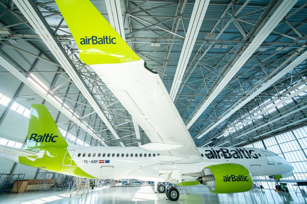 Airbus A220-300. Foto: airBaltic