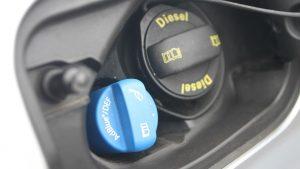 AdBlue se musí tankovat do novějších dieselových motorů