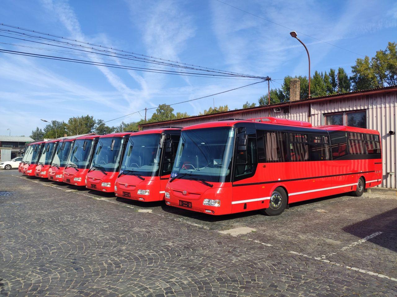 Autobusy SOR pro provoz v Bratislavském samosprávném kraji. Foto: Arriva