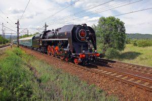 Parní lokomotiva 475.179 Šlechtična. Pramen: České dráhy