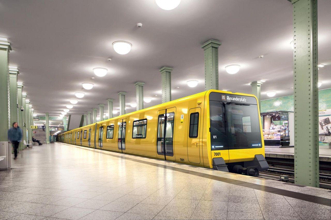 Nové metro pro Berlín od Stadleru. Foto: Stadler Rail