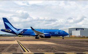 Airbus A220-300 pro Breeze Airways. Foto: Airbus