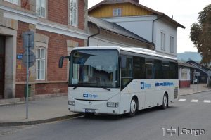 Autobus ČD Cargo pro náhradní autobusovou dopravu. Foto: ČD Cargo