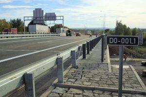Nový most na D0 přes Chlumeckou ulici. Foto: ŘSD