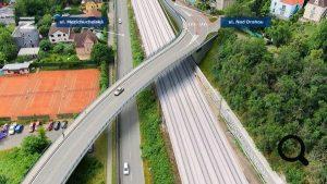Vizualizace nadjezdu ve Velké Chuchli. Foto: Správa železnic