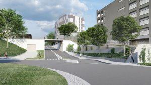 Vizualizace nové podoby terminálu Černý Most. Foto: re:architekti