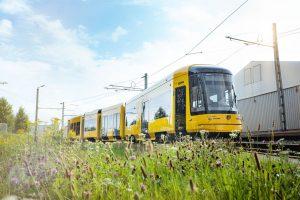 Nová tramvaj NGT DX DD pro Drážďany. Foto: DVB