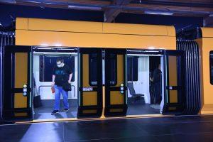 Nová tramvaj NGT DX DD pro Drážďany. Foto: Michal Chrást