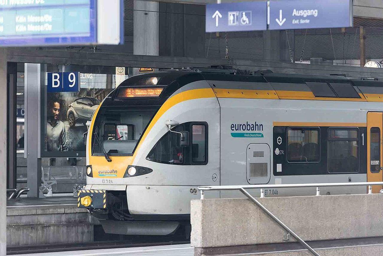 Stadler Flirt společnost Eurobahn. Foto: Eurobahn