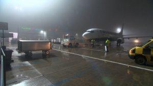 Boeing 737-800 společnosti Ryanair na letišti Hahn. Foto: Flughafen Frankfurt - Hahn