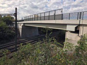 Nový most v ulici Za Černým mostem. Foto: Metrostav Infrastructure