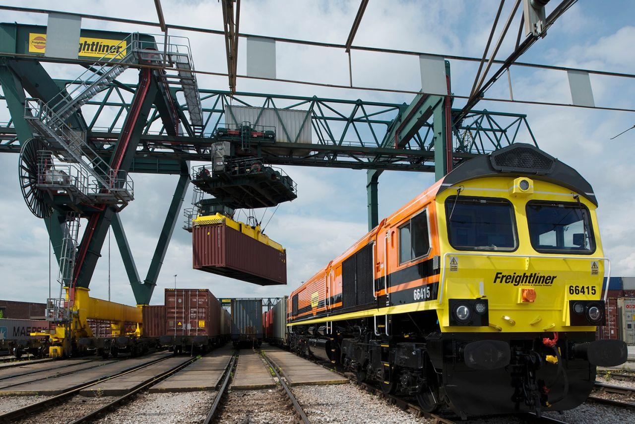 Dieselová lokomotiva společnosti Freightliner. Foto: Freightliner