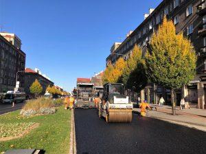 Oprava silnice I/11 v Havířově. Foto: ŘSD