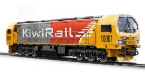 Lokomotiva Stadler pro KiwiRail, vizualizace. Pramen: Stadler