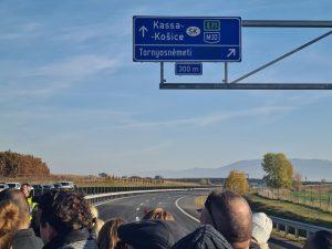 Nový úsek dálnice M30. Foto: Kosice.sk