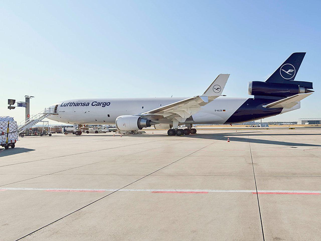 McDonell Douglas MD-11 v barvách Lufthansa Cargo. Foto: Lufthansa Cargo