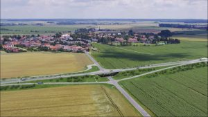 Vizualizace obchvatu Luštěnic. Foto: ŘSD