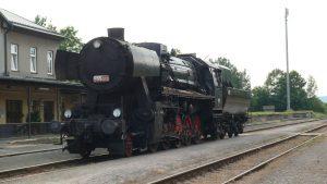Parní lokomotiva 555.0153. Foto: Muzeum starých strojů a technologií Žamberk