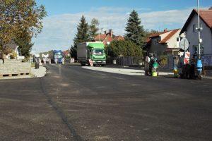 Úprava křižovatky na silnici I/38 v Nové Vsi. Foto: ŘSD