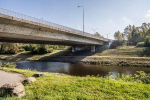 Stávající most přes Ostravici. Foto: Ostrava.cz