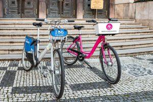 Sdílená kola v Praze. Foto: ROPID