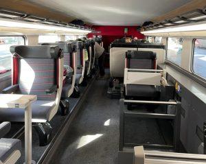 Nová cestovní třída Business Première v TGV. Foto: SNCF