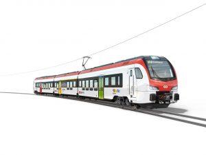 Nové elektrické jednotky Flirt pro SBB. Foto: Stadler Rail