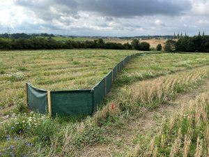Obojživelníky budou chránit při stavbě D4 tkaninové bariéry. Pramen: Via Salis